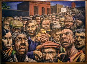 Antoni Berni. Manifestación - 1934